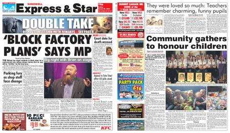 Express and Star Sandwell Edition – March 29, 2019