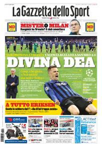 La Gazzetta dello Sport Roma – 20 febbraio 2020