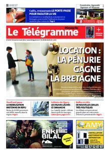 Le Télégramme Brest Abers Iroise – 22 août 2021