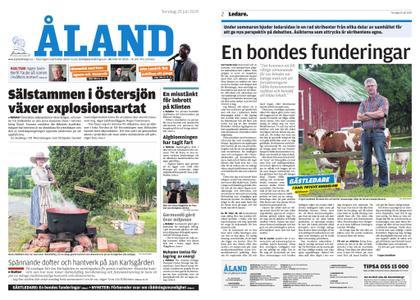 Ålandstidningen – 25 juli 2019
