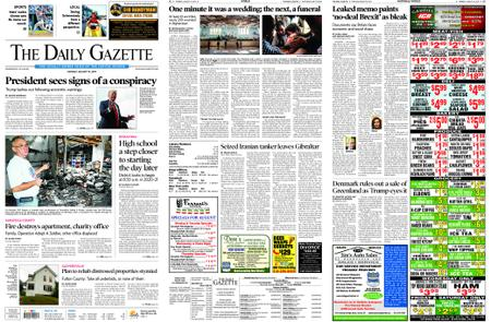 The Daily Gazette – August 19, 2019