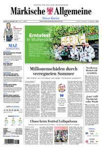Märkische Allgemeine Dosse Kurier - 11. September 2017