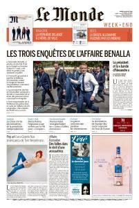 Le Monde du Samedi 21 Juillet 2018