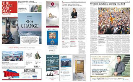 The Globe and Mail – October 28, 2017