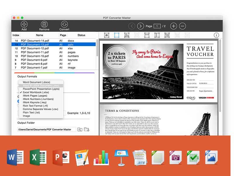 Lighten PDF Converter Master 5 1 2 Mac OS X / AvaxHome