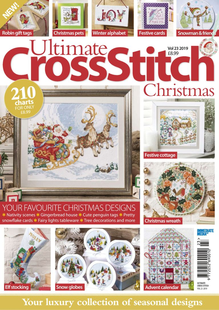 Ultimate Cross Stitch Christmas – October 2019