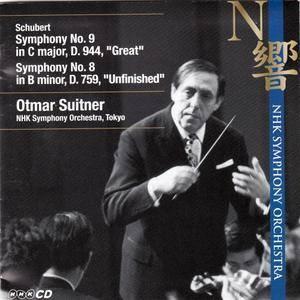 Otmar Suitner & NHK Symphony Orchestra - Schubert: Symphony № 9 in C major & Symphony № 8 in B minor (2010)