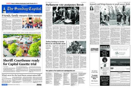 The Capital – October 20, 2019