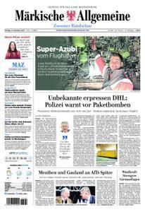Märkische Allgemeine Zossener Rundschau - 04. Dezember 2017