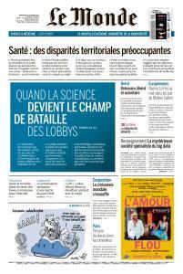 Le Monde du Mercredi 10 Octobre 2018
