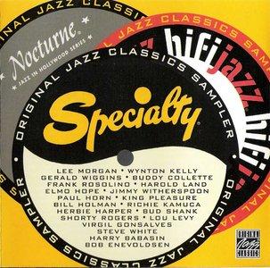 VA - Specialty, Hifijazz, Nocturne: Original Jazz Classics Sampler (2002) **[RE-UP]**