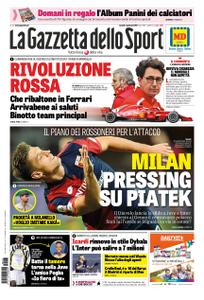 La Gazzetta dello Sport Roma – 07 gennaio 2019
