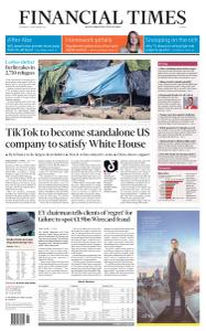 Financial Times Europe - September 16, 2020