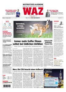 WAZ Westdeutsche Allgemeine Zeitung Oberhausen-Sterkrade - 31. Oktober 2018