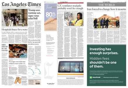 Los Angeles Times – March 19, 2020