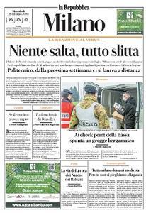 la Repubblica Milano - 26 Febbraio 2020