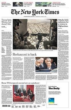 International New York Times - January 31, 2018