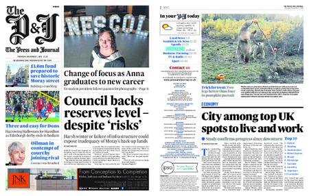 The Press and Journal Moray – November 01, 2018