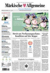 Märkische Allgemeine Zossener Rundschau - 30. Januar 2019