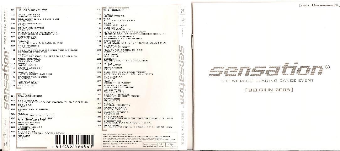 VA - Dance Sensation White (2006)