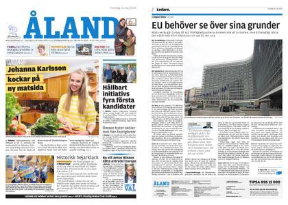 Ålandstidningen – 16 maj 2019