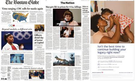 The Boston Globe – July 28, 2021