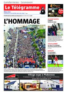 Le Télégramme Landerneau - Lesneven – 11 juin 2019