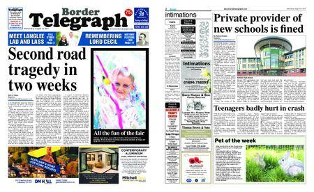 Border Telegraph – August 23, 2017