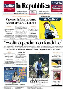 la Repubblica - 30 Dicembre 2020