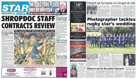 Shropshire Star Shrewsbury Edition – November 01, 2017