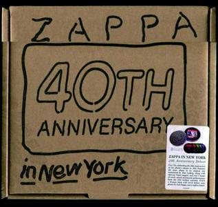 Frank Zappa - Zappa In New York (2019) {5CD Box Set, 40th Anniversary Deluxe Edition ZR20029 rec 1976}