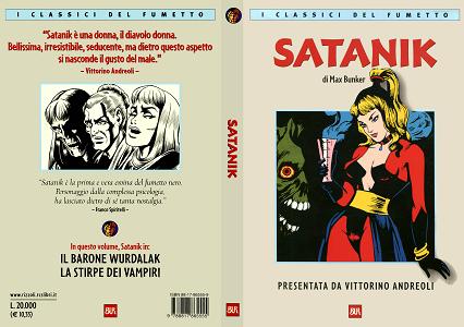 I Classici Del Fumetto Bur - Volume 13 - Satanik