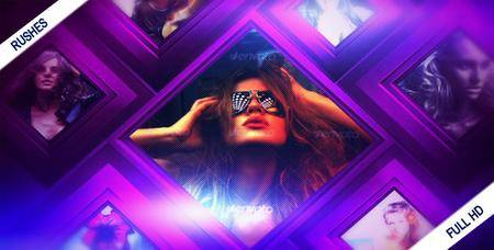 Diamond Flow - Project for After Effects (VideoHive)