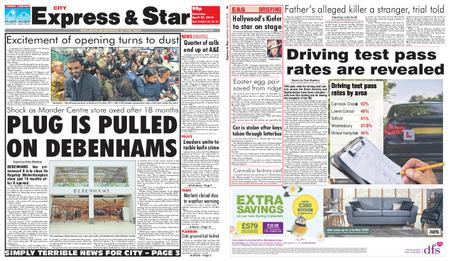 Express and Star City Edition – April 27, 2019