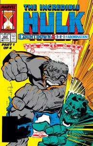 Incredible Hulk 364 1989
