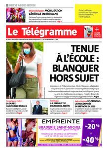 Le Télégramme Brest Abers Iroise – 23 septembre 2020