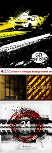 Vectors - Creative Grunge Backgrounds 19