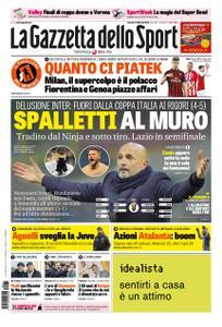 La Gazzetta dello Sport Sicilia – 01 febbraio 2019