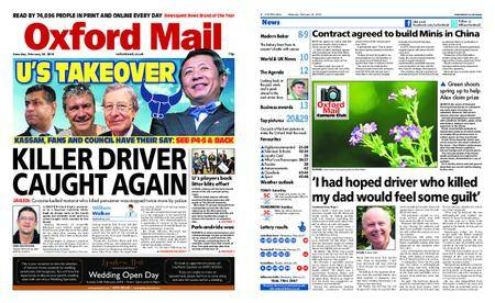 Oxford Mail – February 24, 2018