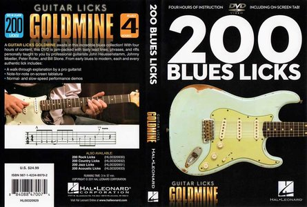 Guitar Licks Goldmine - 200 Blues Licks [repost]