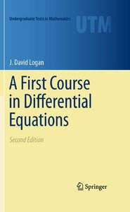 A First Course in Differential Equations (Second edition) (repost)