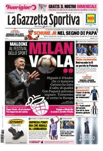 La Gazzetta dello Sport Roma – 14 ottobre 2018
