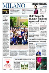 Corriere della Sera Milano – 18 maggio 2019