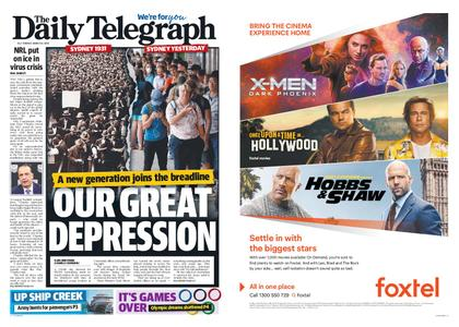 The Daily Telegraph (Sydney) – March 24, 2020
