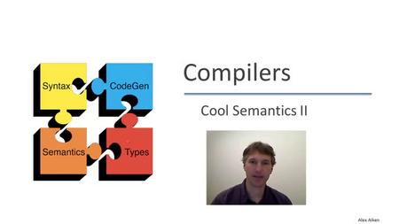 Coursera - Compilers [repost]