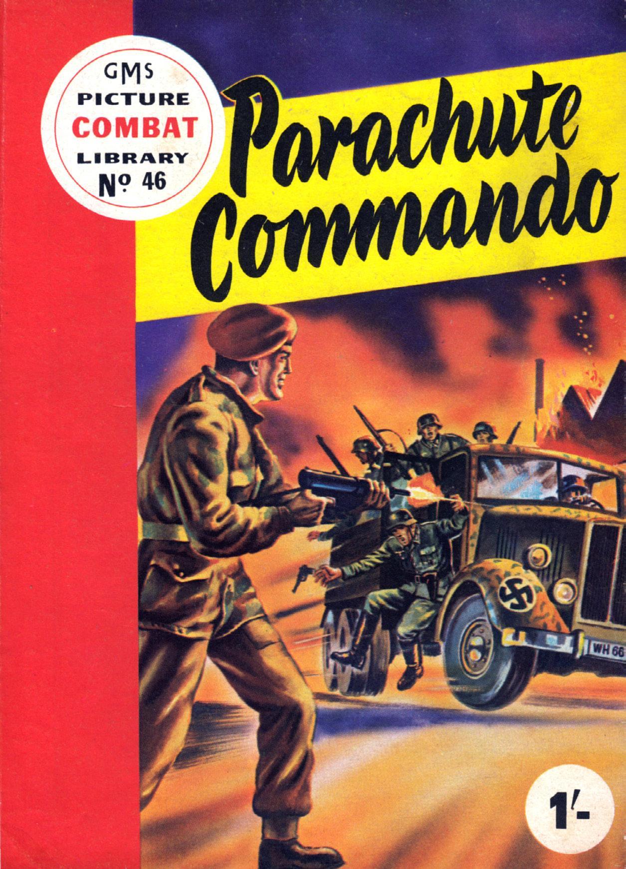 Combat Picture Library 046 - Parachute Commando (Mr Tweedy