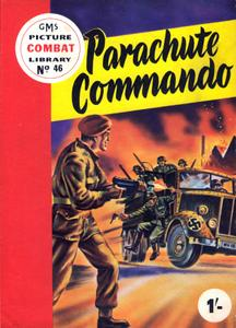 Combat Picture Library 046 - Parachute Commando (Mr Tweedy
