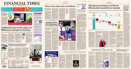 Financial Times Europe – 17 November 2017