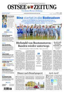 Ostsee Zeitung Wolgast - 02. Mai 2018