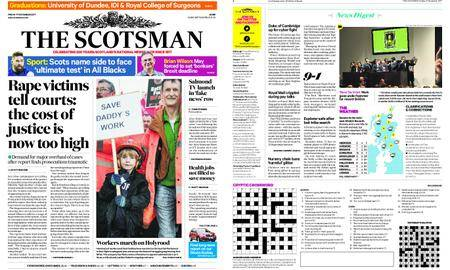 The Scotsman – November 17, 2017
